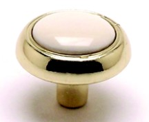 Berenson 8081-103-P Round Ring Knob, dia. 1-1/4, MultiTone, Salem