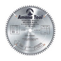 Amana Tool MD10-803 10in Double Sided Melamine & Laminate Circular Saw Blade, Carbide Tipped, 80T, HATB, -5-deg, 5/8 Inch Bore