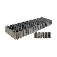 SENCO X08NRA, Corrugated Fasteners, 1in Crown, 25-Gauge, Length 1/2, Box 4,000