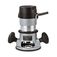 Black and Decker 690LR, Router, Knob Handle Style, Single Speed 27,500 RPM, 1-3/4 HP, 11 Amps, 1/4 and 1/2 Collet Capacity