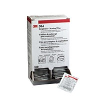 3M 51131070658, Respirator Cleaning Wipes, Individually Packed