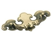 Amerock BP768-AE Drop Handle, Centers 2-3/4, Antique Brass, Vintage Series
