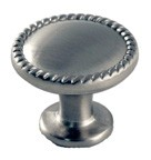 WE Preferred B66040SN Round Ring Knob dia. 1-1/4, Satin Nickel, MP972-SN