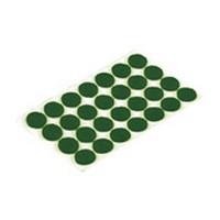 Shepherd 9421, Round Felt Bumpers, Self-Adhesive, Size 3/8 Dia, Green, 1,008-Pack