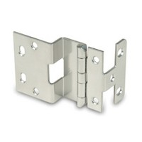 WE Preferred P454-1D 5-Knuckle Hinge for 3/4 Doors, Black