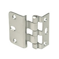 WE Preferred P349-26D 5-Knuckle Hinge for Inset Doors, Dull Chrome