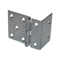 WE Preferred P860-1D 5-Knuckle Hinge for 3/4 Doors, Black
