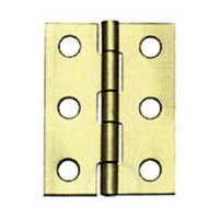 "1-1/2"" x 1-1/4"" Butt Hinge Polished Brass Stanley S803-220,"