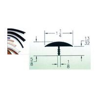 Patwin P575-1-1/4-260, 1-1/4 Wide Bumper Molding, Black