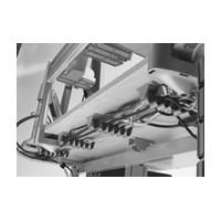 Custom Plastics CPF-03-30-01-AL, Cable Grip Wire Managers, 1-Piece Plastic, Dimensions: 2.56inx5.31inx1.75in, Aluminum