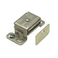 Engineered Products (EPCO) 591-B 2-1/16 L, Aluminum Single Magnetic Catch with Strick Plate, Pull Force 6.5lb, Aluminum
