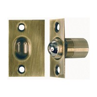 Allegion US 44074116809, Ball Catch, Dual Adjustment, Antique Brass