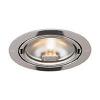 Hera E/SET2ARFS20SS Halogen 3-Puck Light Set, ARF Series, Stainless Steel Look