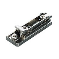 Salice BAPGR69/16, 6mm Die-cast Mounting Plate, 2 Cam, Pre-mounted Euro Screws