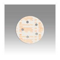 3M 51111545393 Abrasive Discs, Microning Film, 5in 5-Hole Hook & Loop, 15 Micron