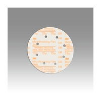 3M 51111545614 Abrasive Discs, Microning Film, 6in 5-Hole Hook & Loop, 80 Micron