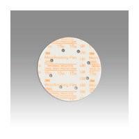 3M 51111545614 Abrasive Discs, Microning Film, 6in 5-Hole Hook & Loop, 80 Micron
