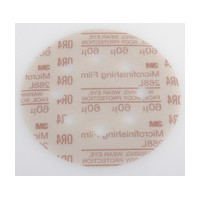 3M 51111545454 Abrasive Discs, Microning Film, 5in 8-Hole Hook & Loop, 60 Micron