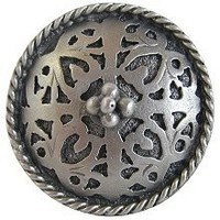 Notting Hill NHK-112-AP, Moroccan Jewel Knob in Antique Pewter, Jewel