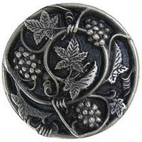 Notting Hill NHK-129-AP, Grapevines Knob in Antique Pewter, Tuscan