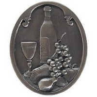 Notting Hill NHK-140-AP, Best Cellar (Wine) Knob in Antique Pewter, Tuscan