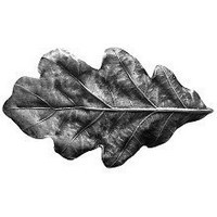 Notting Hill NHK-144-AP, Oak Leaf Knob in Antique Pewter, Leaves