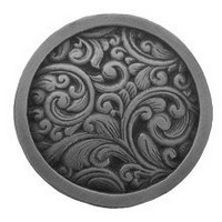 Notting Hill NHK-159-AP, Saddleworth Knob in Antique Pewter, Classic