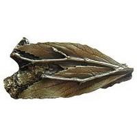 Notting Hill NHK-172-AB, Leafy Twig Knob in Antique Brass, Leaves