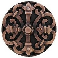 Notting Hill NHK-176-AC, Chateau Knob in Antique Copper, Olde World