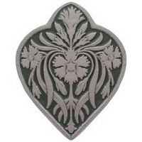 Notting Hill NHK-178-AP-C, Dianthus Knob in Antique Pewter/Sage, English Garden
