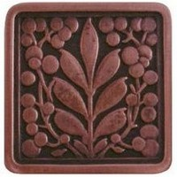 Notting Hill NHK-179-AC, Mountain Ash Knob in Antique Copper, English Garden