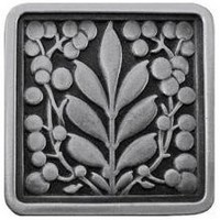 Notting Hill NHK-179-AP, Mountain Ash Knob in Antique Pewter, English Garden
