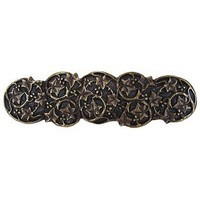 Notting Hill NHP-605-AB, Ivy With Berries Pull in Antique Brass, Leaves
