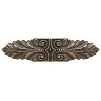 Notting Hill NHP-625-AB, Opulent Scroll Pull in Antique Brass, Classic