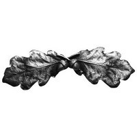 Notting Hill NHP-644-AP, Oak Leaf Pull in Antique Pewter, Leaves