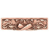 Notting Hill NHP-652-AC, Leafy Carrot Pull in Antique Copper, Kitchen Garden