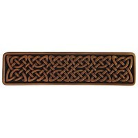 Notting Hill NHP-657-AC, Celtic Isles Pull in Antique Copper, Jewel