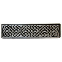 Notting Hill NHP-657-AP, Celtic Isles Pull in Antique Pewter, Jewel