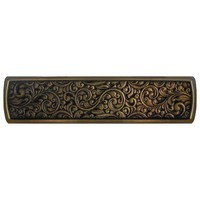 Notting Hill NHP-659-BZ, Saddleworth Pull in Antique Solid Bronze, Classic