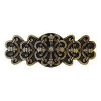 Notting Hill NHP-676-AB, Chateau Pull in Antique Brass, Olde World