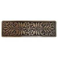 Notting Hill NHP-679-AB, Mountain Ash Pull in Antique Brass, English Garden
