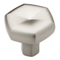 Liberty Hardware P19024-110-C, 1-5/16 (34 mm) Knob, Zinc Die Cast Knob, Stainless