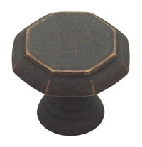 Liberty Hardware PN0292-OB-C, Knob, 1-1/4 dia., Distressed Oil Rubbed Bronze