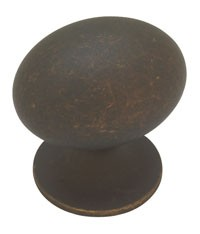 Liberty Hardware PN0393-OB-C, Knob, Length 1-5/16, Distressed Oil Rubbed Bronze, Fusilli II
