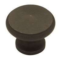 Liberty Hardware PN0397-OB-C, Large Peak Knob, 1-1/4 (30mm) dia., Distressed Oil Rubbed Bronze