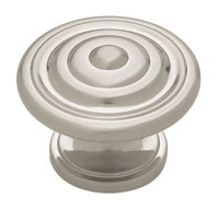 Liberty Hardware PN0407-SN-C, Knob, 1-3/8 dia., Satin Nickel