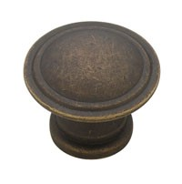 Liberty Hardware PN0408-OB-C, Knob, 1-1/4 dia., Distressed Oil Rubbed Bronze