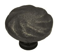 Liberty Hardware PN1320-OB-C, Rustique Knob, 1-1/2 (38mm) dia., Distressed Oil Rubbed Bronze