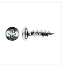 WE Preferred 1MPXP06058S2Z-16 Hinge, Slide & Hardware Screw, Pan Head Phillips, Type 17 Auger Pt, Coarse Thread, 5/8 x 6, Zinc, Bulk-1000