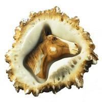 Sierra Lifestyles 681459, Pull, Elk Burr Pull, Horse, Rustic Lodge